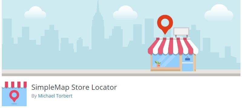 SimpleMap Store Locator plugin for WordPress