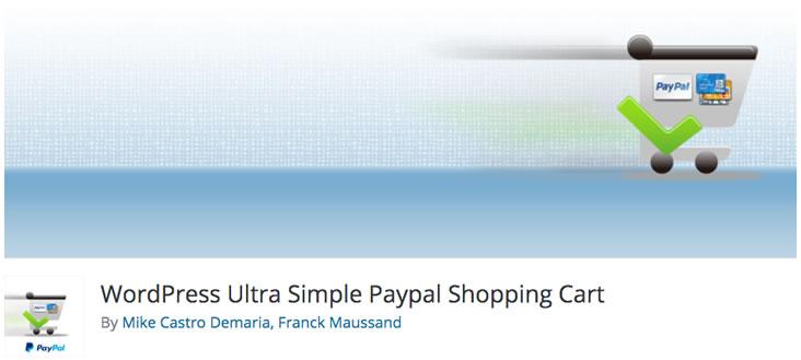 WordPress Ultra Simple Paypal Cart plugin