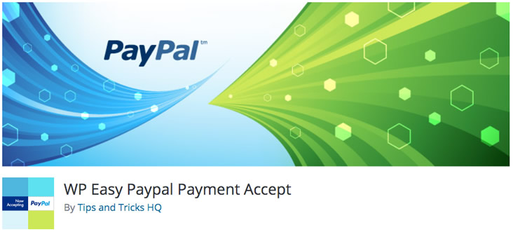 WP Easy PayPal Payment Accept plugin
