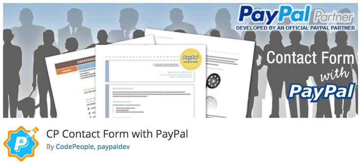 CP Contact Form With PayPal plugin
