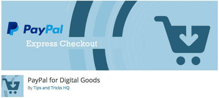 PayPal for Digital Goods plugin