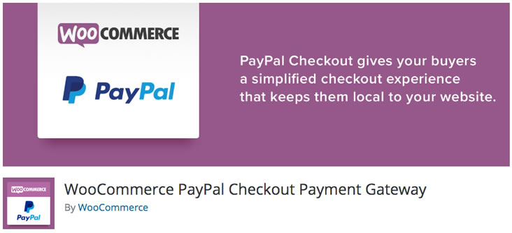 WooCommerce PayPal Checkout Payment Gateway plugin