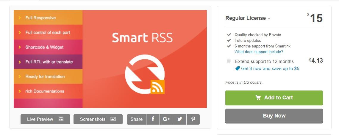 SmartRSS-feed-plugin
