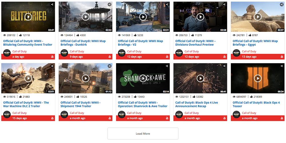 Visual Composer YouTube Cannel with Carousel WordPress Plugin