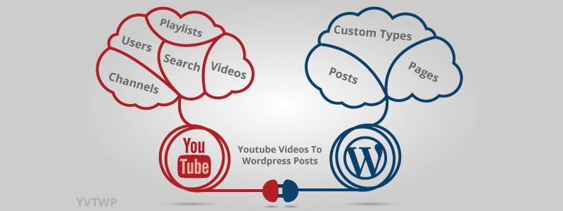 Youtube Videos To WordPress Posts Premium WordPress Plugin