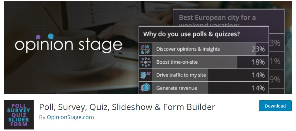 Opinion-stage-wordpress-survey-plugin