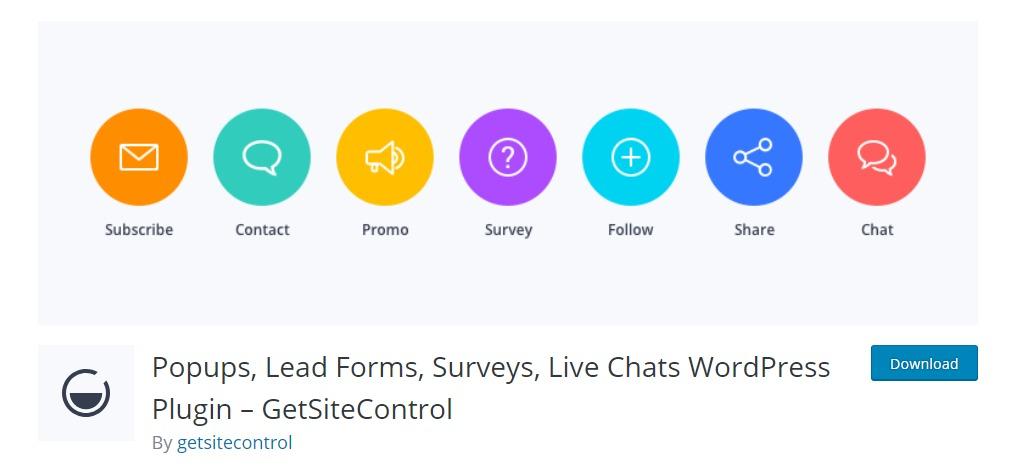 get-site-control-wordpress-survey-plugin