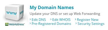 My Domain Names