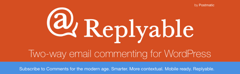 replyable by postmatic