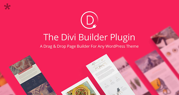 The Divi Builder WordPress Page Builder Plugin