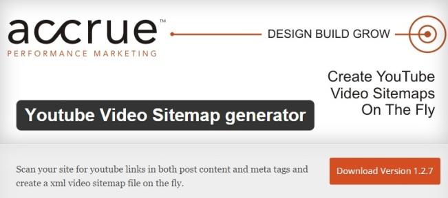 Youtube Video Sitemap generator