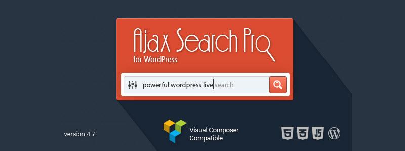 02 AJAX Search Pro for WordPress - Live Search Plugin