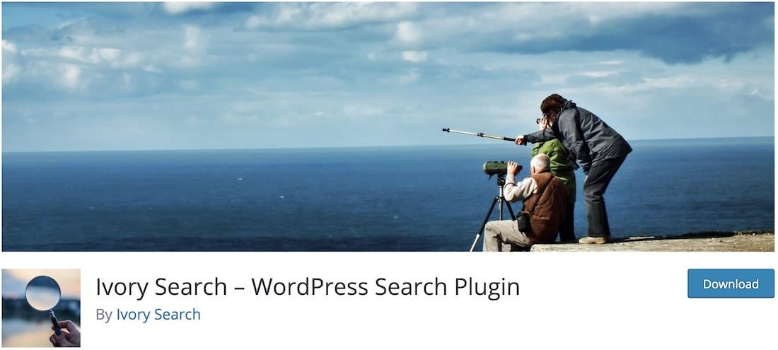 ivory search wordpress plugin
