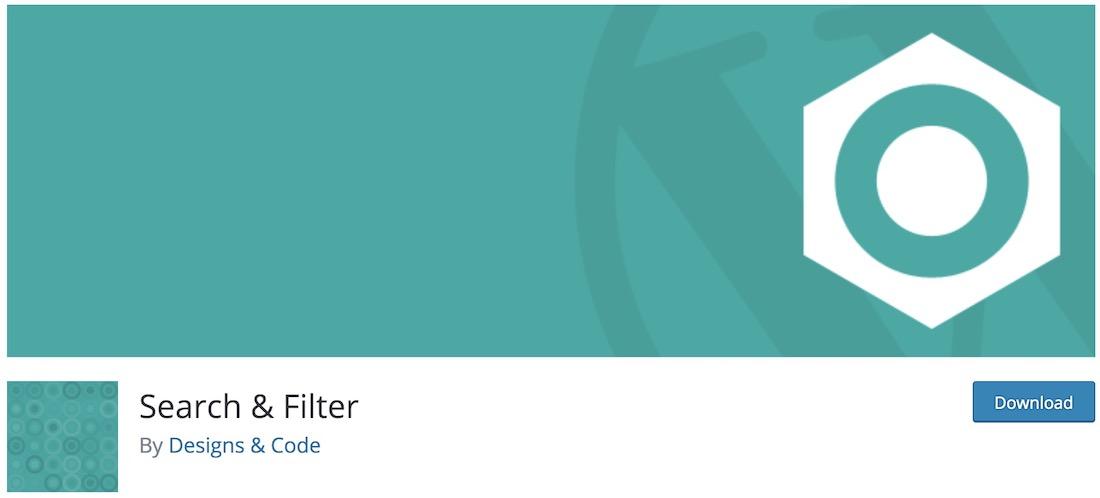 search filter wordpress plugin