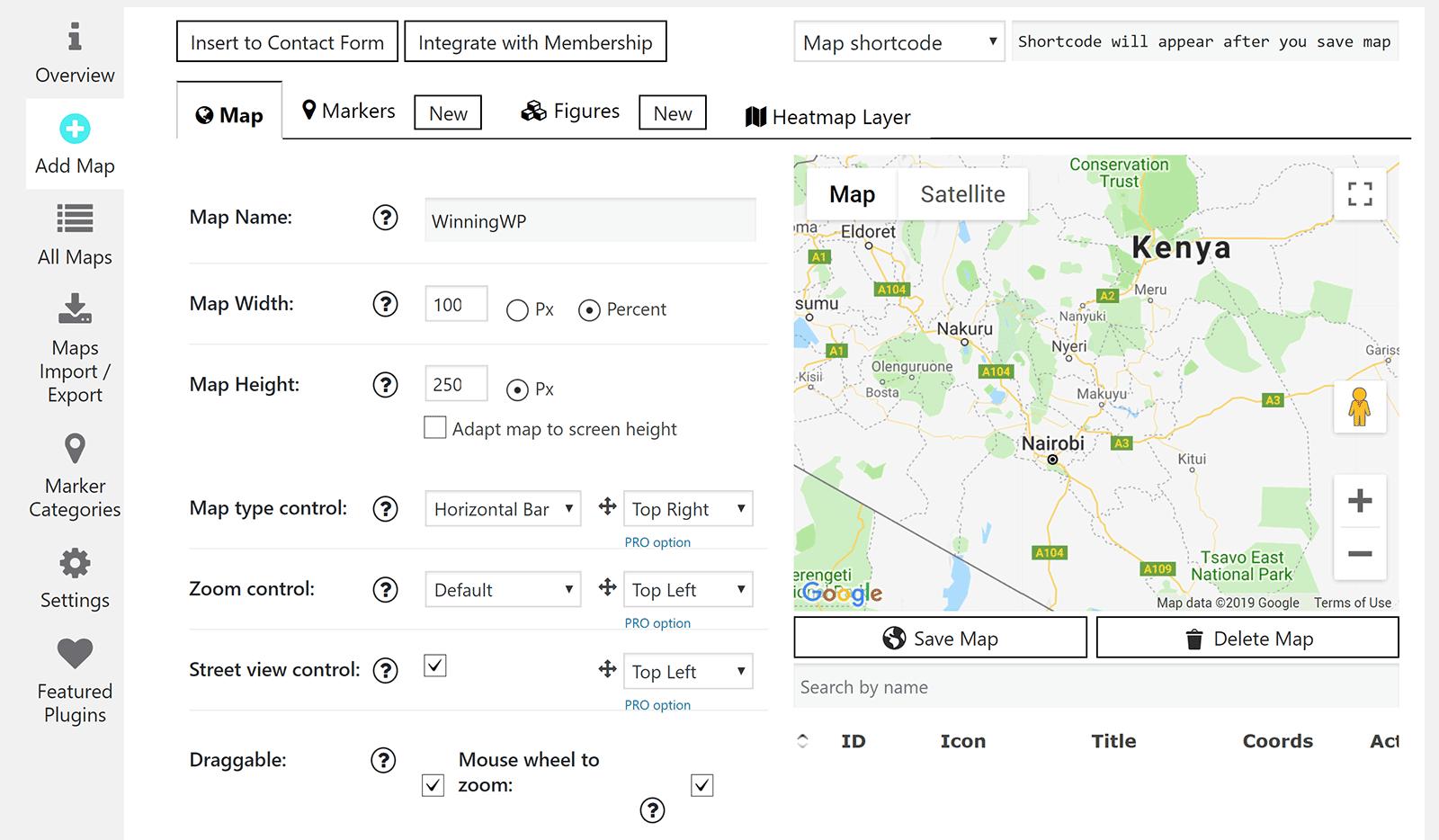 Google Maps Easy