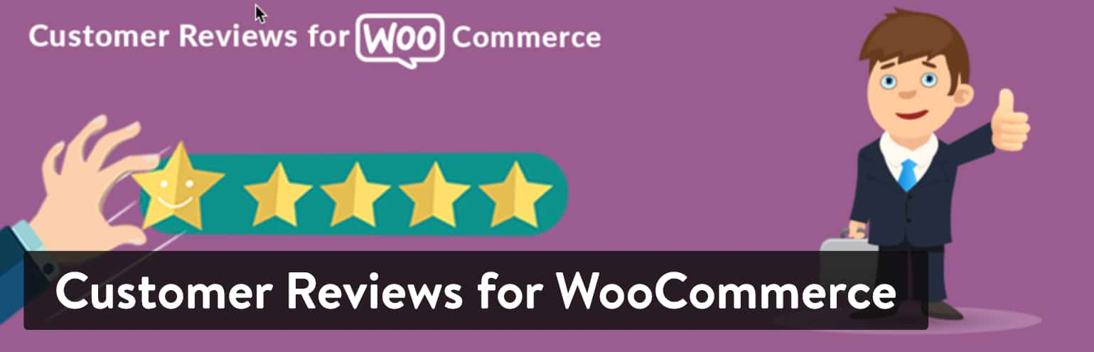 Best WordPress Review Plugins: Customer Reviews for WooCommerce