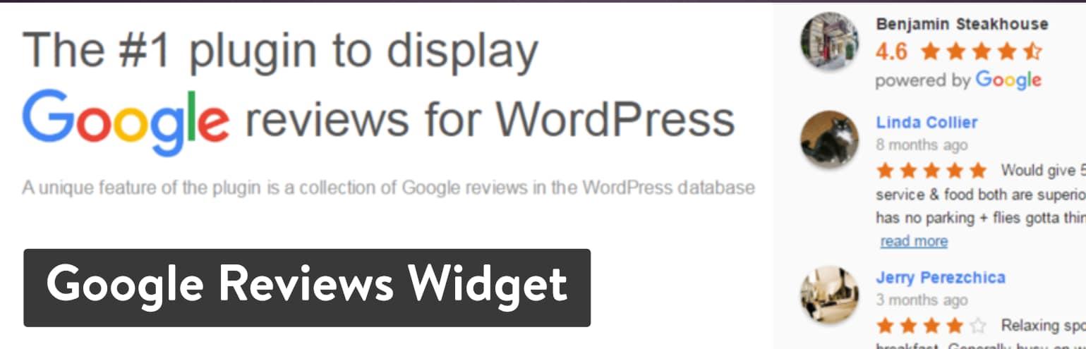 Best WordPress Review Plugins: Google Reviews Widget