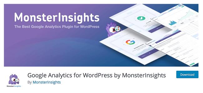 MonsterInsights is easily the best Google Analytics Plugin for WordPress